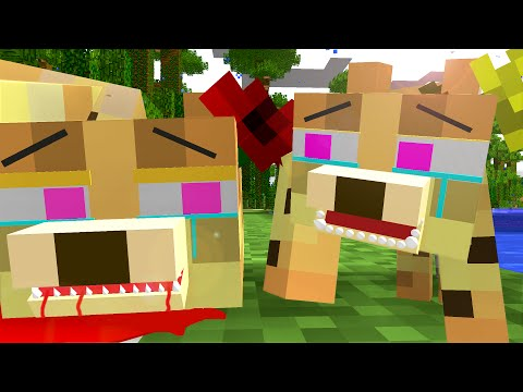 Ocelot Life - Craftronix Minecraft Animation