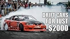5 Cheap Drift Cars For Under $2000