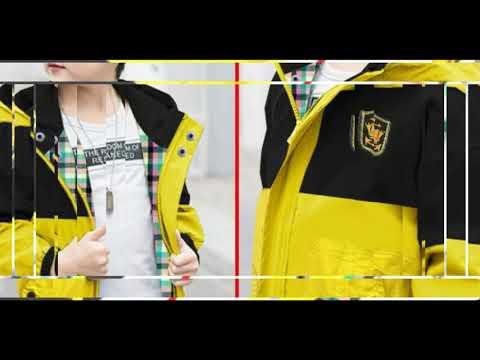 Tổng Hợp Mẫu áo Khoác Trẻ Em Nam đẹp 2020