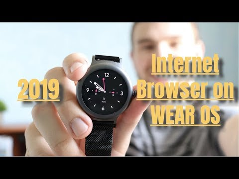 How To Get An Internet Browser On WEAR OS (IT ACTUALLY WORKS! 2020)