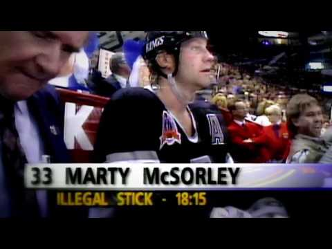 Memories: McSorley's illegal stick leads to a loss