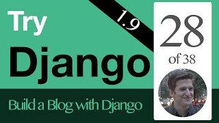 Try Django 1.9  - 28 of 38 - File Uploads with FileField and ImageField