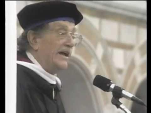 Kurt Vonnegut at Rice, 1998