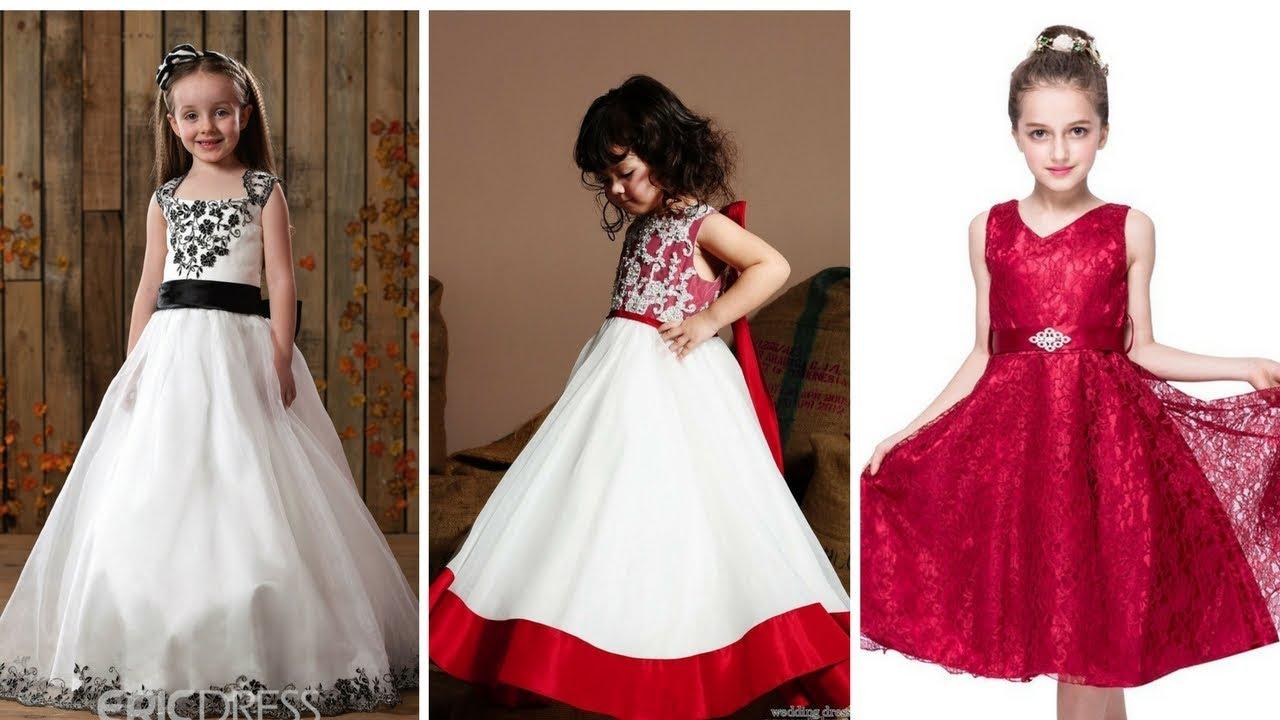 c552caa58 VESTIDOS DE NIÑA PARA BODAS ♥  Moda  Fashion  Vestidos  Niñas - YouTube