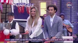 شاهد- علي ربيع وسالي شاهين في مسابقة