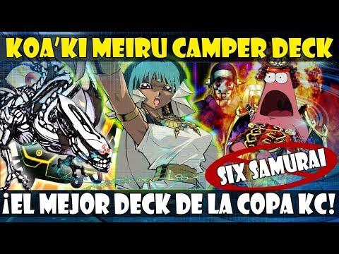 KOA'KI MEIRU CAMPER DECK (ABRIL 2019)  | ¡EL DECK TOP DE LA COPA KC, A CAMPEAR! - DUEL LINKS