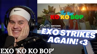 Music Producer REACTS to EXO 'Ko Ko Bop' MV | 엑소 | R…
