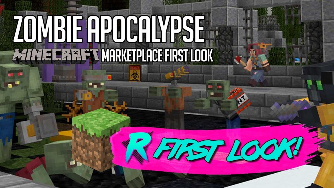 Zombie Apocalypse - First Look - Minecraft Marketplace