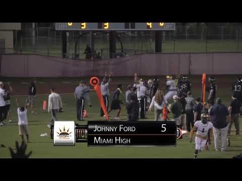 Round 2 FHSAA Playoffs: 8A Miami High vs Southridge