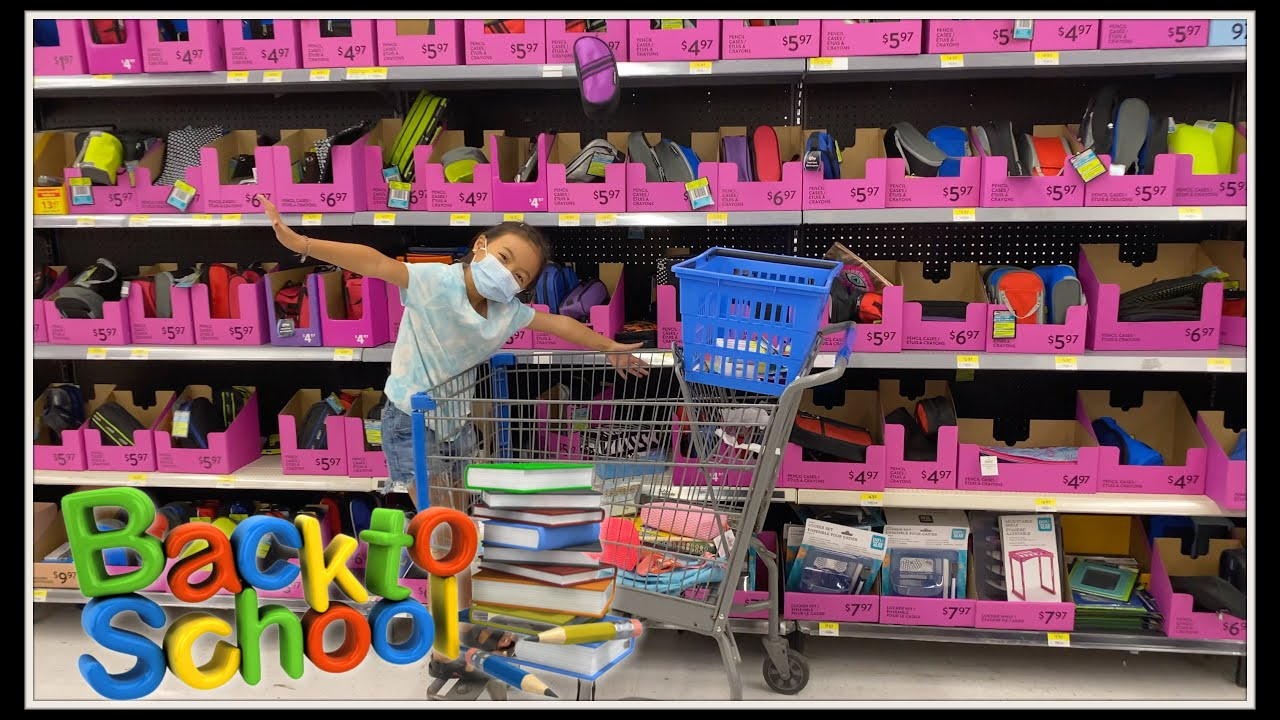 BACK TO SCHOOL SHOPPING! Vlog with Emma