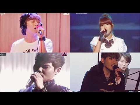 K-idols sing 보고싶다 (I Miss You) by Kim Bum Soo from YouTube · Duration:  4 minutes 5 seconds