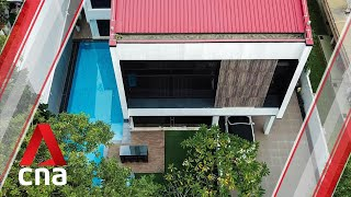 The Singapore home with a glass elevator in the middle of it all | Remarkable Living