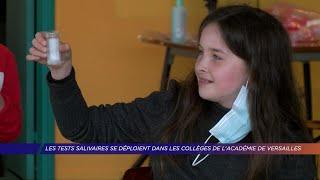Yvelines | Les tests salivaires se déploient dans les collèges de l'académie de Versailles