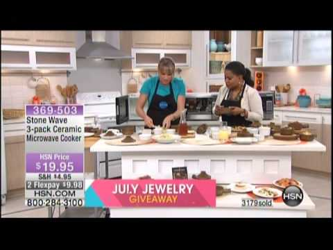 Kelly Diedring Harris presents Stonewave on HSN; 7.8.14