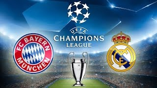 BAYERN MUNICH VS REAL MADRID EN VIVO HD
