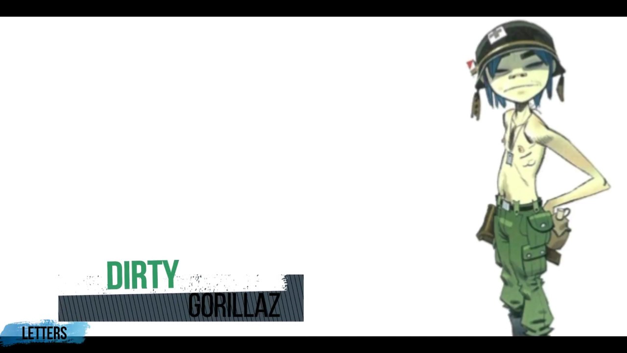 Dirty Harry ESPAÑOL/INGLÉS Gorillaz (Lyrics + Sub)