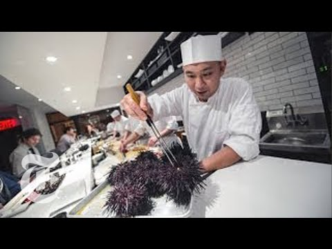 Chef Nakazawa From 'Jiro Dreams of Sushi' Movie Has His Own Restaurant Now | The New York Times