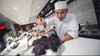 Chef Nakazawa From 'Jiro Dreams of Sushi' Movie Has His Own Restaurant Now | The New York Times thumbnail