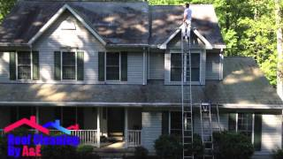 Roof Cleaning by A&E Non Pressure Roof Cleaning in PA and MD