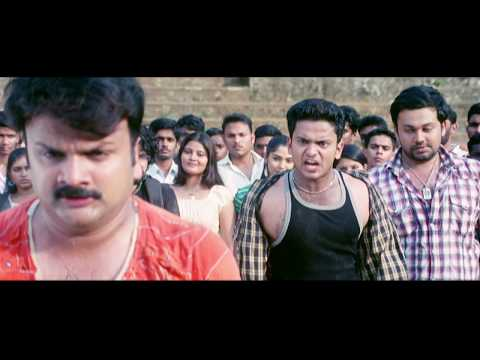 Chaverpada Malayalam Movie | Scenes | HD | Manikuttan and Arun fights with goons at campus