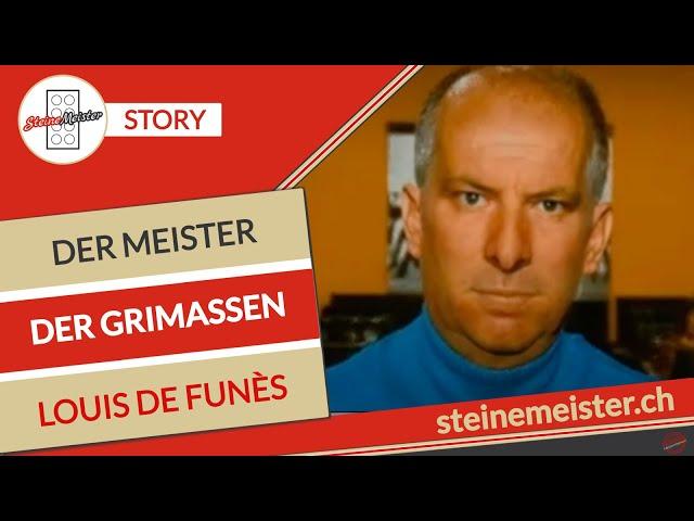 Nein doch, Louis de Funes der Meister der Grimassen. Eine Story, erzählt vom Steine Meister