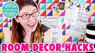 5 Room Decor DIY Hacks for your Dorm Room or Apartment! - HGTV Handmade