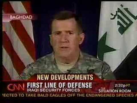 CNN Bergner Iraq Security Forces