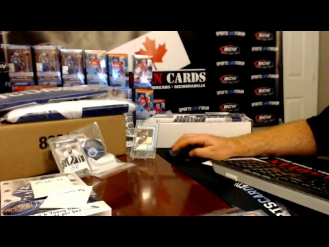 Canadian Cards - Sports Card Forum Hobby Box & $200 in Trading Card Supplies Giveaway's