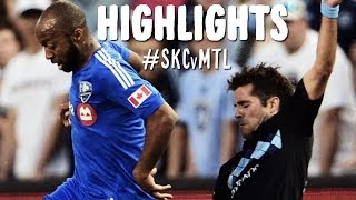 HIGHLIGHTS: Sporting Kansas City vs. Montreal Impact | April 19, 2014