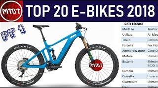 E-BIKES Top 20 modelli 2018 Mountain Bike elettriche Parte 1   MTBT