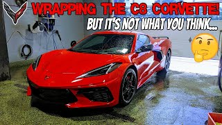 CUSTOMIZING the 2020 C8 Corvette! INŠANE difference!!