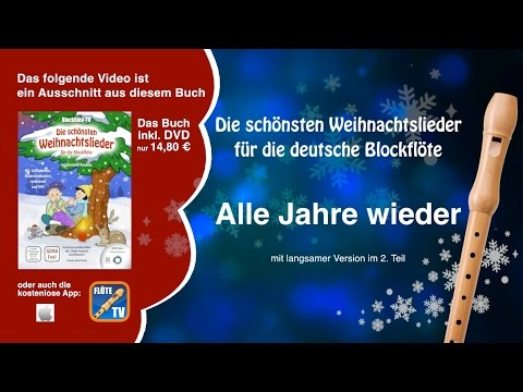 ♬-alle-jahre-wieder-☆-deutsche-blockflöte-☆-weihnachtslieder-☆