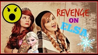 REVENGE ON QUEEN ELSA | Heavy Metal Ariel and Princess Anna