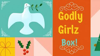Unboxing Godly Girls Box All Things Christmas! 🎄