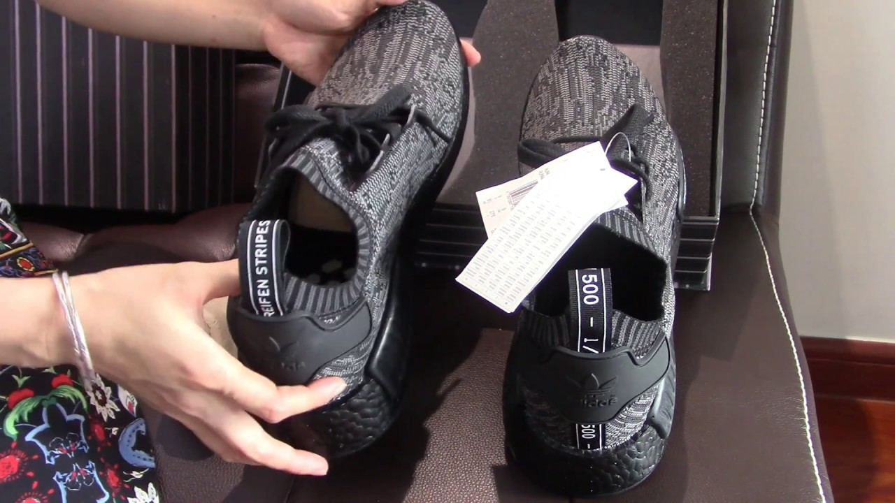 84c943e71 Adidas Original Pitch Black Nmd R1