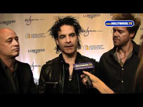 Train Performs for The Andre Agassi Foundation for Education