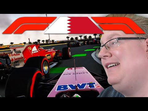 Chris hat einen MOTORSCHADEN   Bahrain 1/2 🎮 F1 2017 Season 2 #5