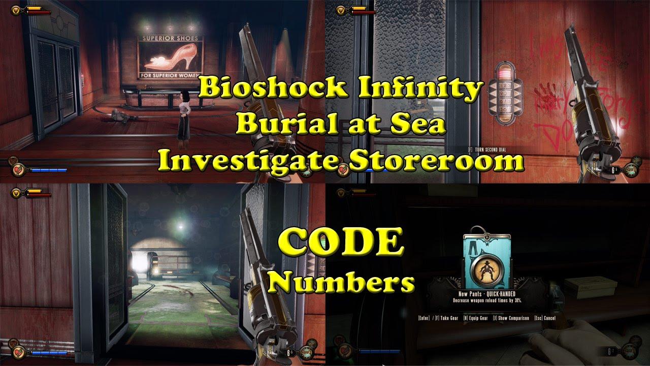 Investigate Storeroom Door CODE