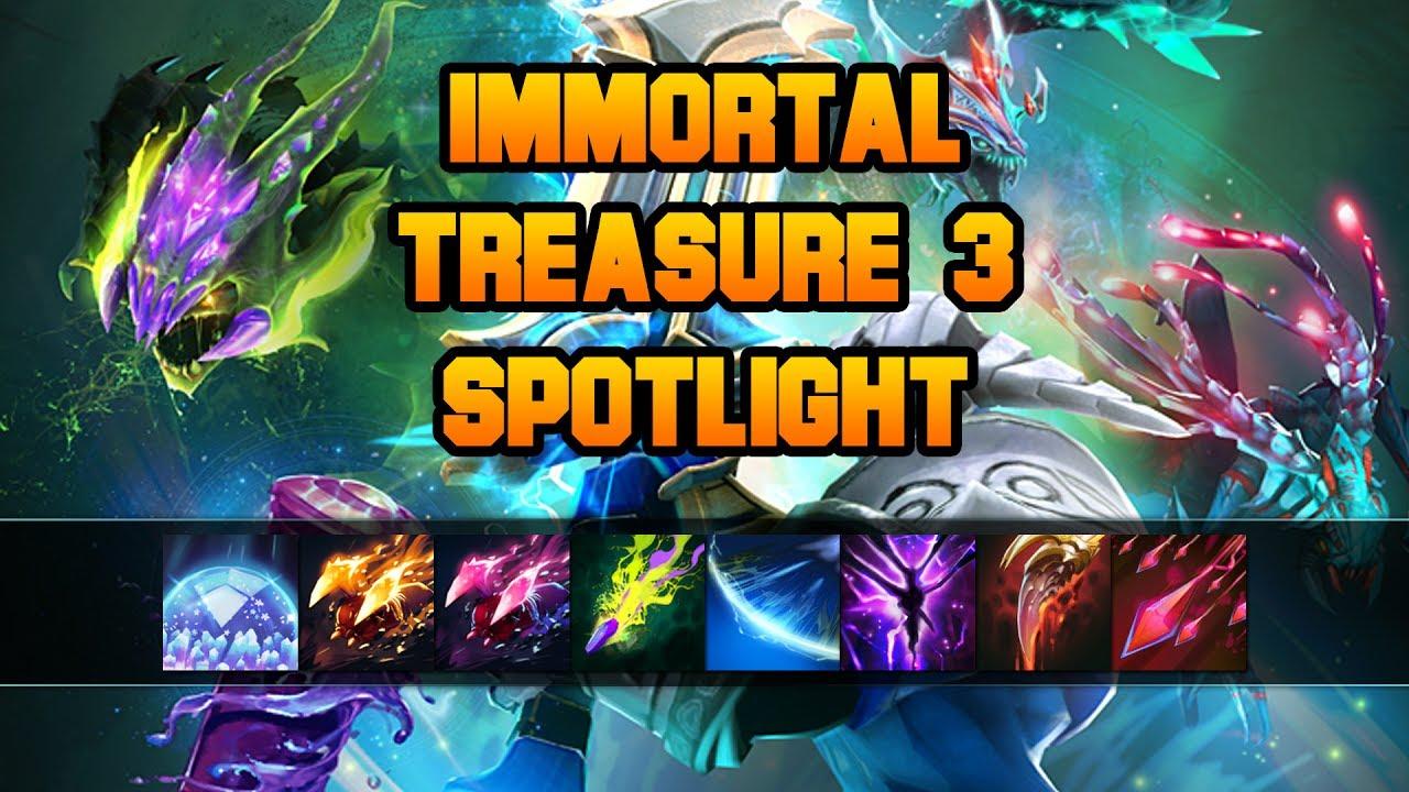 Dota 2 Ti7 Immortal Treasure I 2017 Chest Opening With: Immortal Treasure 3 Spotlight