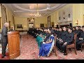 President Kovind meets officer trainees of Central Engineering Service (Roads)