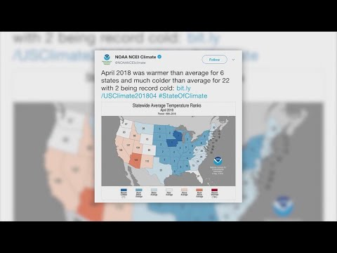 Data shows April was cold nearly everywhere in the U.S.