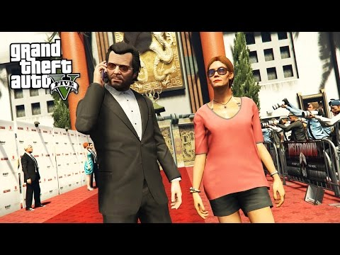 GTA 5 Real Life Mod #45 - BUYING A MOVIE...
