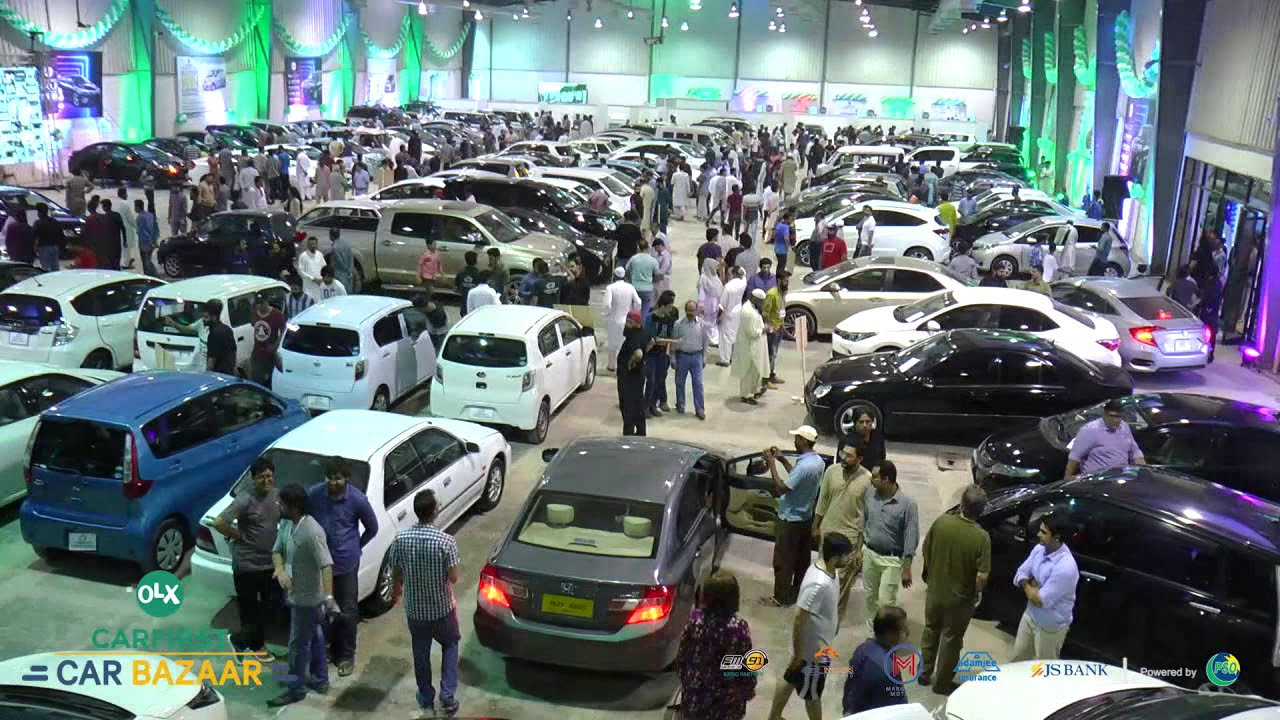 OLX CarFirst Car Bazaar 2018 - Karachi