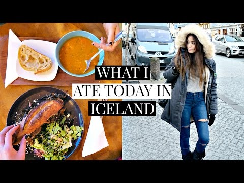 Iceland Vlog + What I Ate Today Vegan!