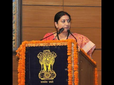 Union Minister Smriti Zubin Irani delivers the Sardar Patel Memorial Lecture 2017