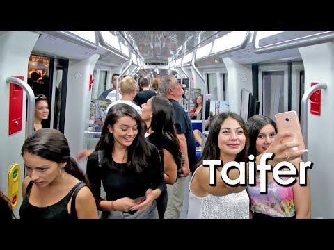 Χαμός στο πρώτο βαγόνι του Μετρό Θεσσαλονίκης - Βγάζουν φωτογραφίες για να το... θυμούνται