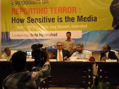 A Symposium on #ReportingTerror : How Sensitive is the Media