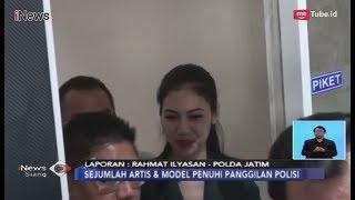 Panggil 8 Model dan Artis, Hanya Della Perez yang Penuhi Panggilan Polda Jatim - iNews Siang 07/02