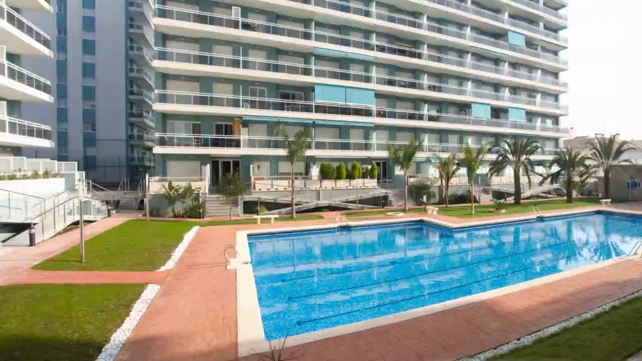 Apartamentos en gandia playa athenea coprusa youtube - Playa gandia apartamentos ...