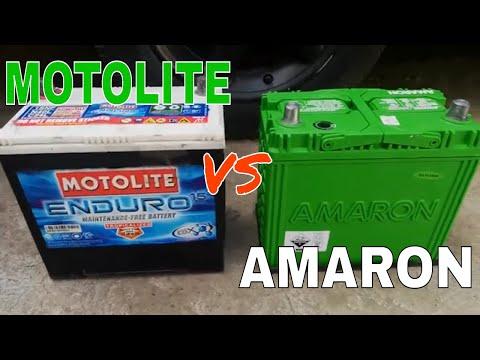 Motolite vs Amaron Best car battery Unboxing comparison, installation and review Link in description